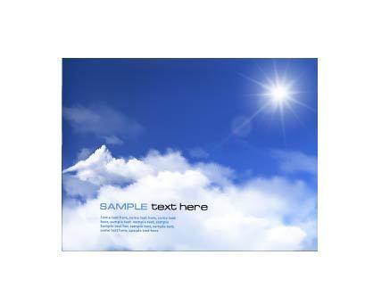 蓝色天空广告设计素材化妆品素材平面设计矢量图片