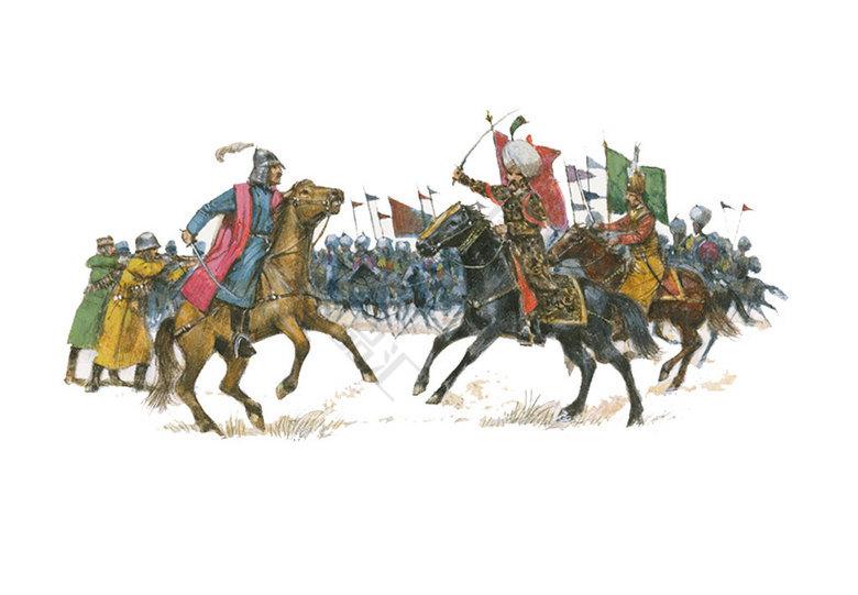 卡通手绘 古代战旗设计元素  旗帜 战旗 军旗 古代战旗 设计素材 设计