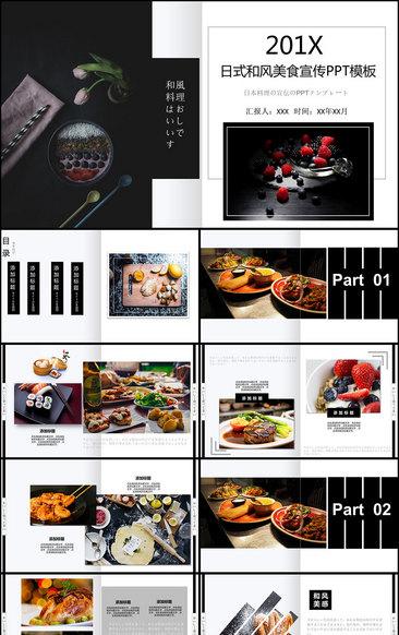 手札模版PPT美食四川美食手抄报的图片