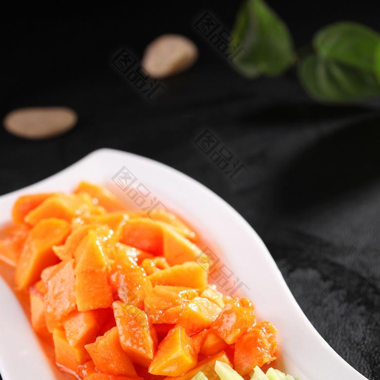 芥兰美食美食图片丰木瓜厚图片