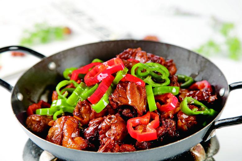 美味干锅小招牌图片美食笋鸡名图片