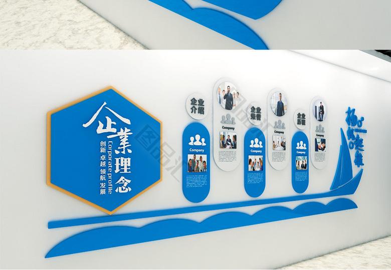 装饰设计 企业文化 企业宣传栏形象墙  企业文化墙 走廊文化墙 办公室图片