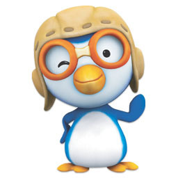 3d戴眼镜的企鹅 图品汇