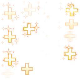 金色加号游戏特效素材 图品汇